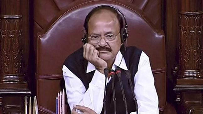 Miffed over frequent disruptions in RS , Naidu cancels dinner for MPs