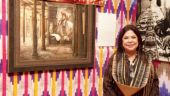 A sneak-peek into designer Ritu Kumar's textile exhibition held in Delhi