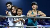 IPL 2018, MI vs SRH: Ritika, Aesha bond as husbands clash on the field