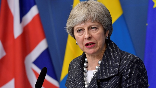 Theresa May: Syria airstrikes sends warning about use of chemical weapons