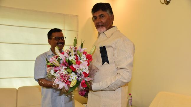 BJP hits back at Naidu, says ditching is not its DNA""