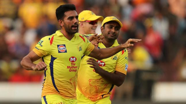 Chennai Super Kings: Ngidi in, Chahar out