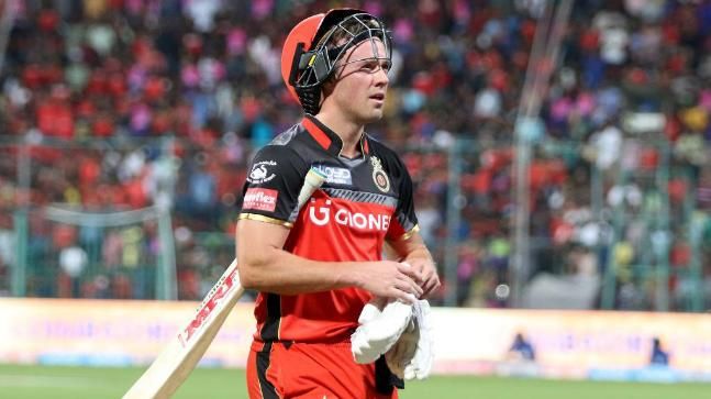 ipl 2018 rcb vs kkr ab de villiers misses out with viral fever