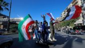 Syrians gather in Damascus in defiance after US-led strikes