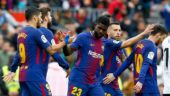 Barcelona edge past Valencia to record longest unbeaten streak in La Liga