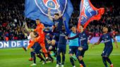 Paris St Germain clinch Ligue 1 title with five games remaining