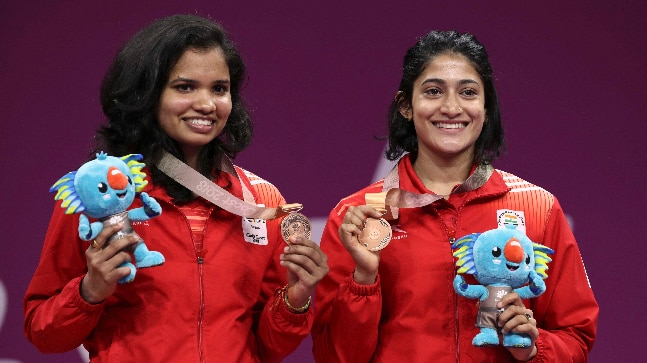 Ashwini Ponnappa and N Sikki Reddy (Photo: Reuters)