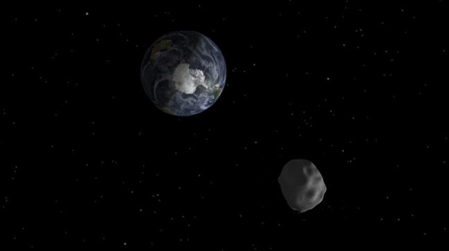 When Asteroid 2018 GE3 was about to hit the earth