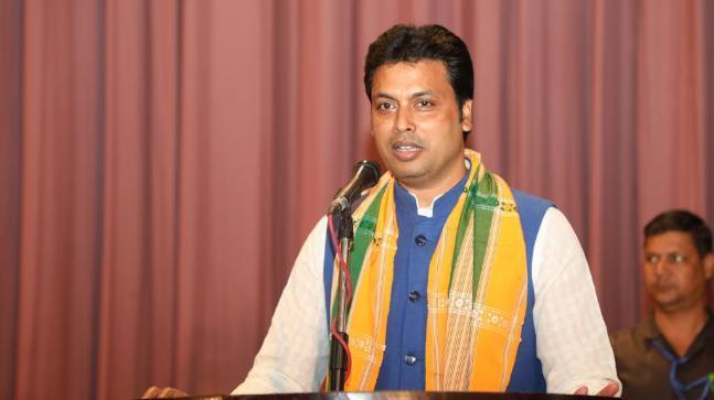 Don't chase government jobs, set up paan shop: Tripura CM