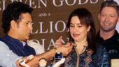 Sachin Tendulkar turns 45: Watch as Master Blaster cuts birthday cake with wife Anjali