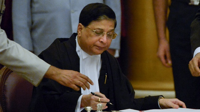 Opposition submits proposal to move impeachment motion against CJI Dipak Misra