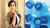 Dia Mirza is raising awareness about the impact of plastic on environment