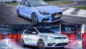 Hyundai i30N vs Volkswagen Golf GTI drag race: Who wins?