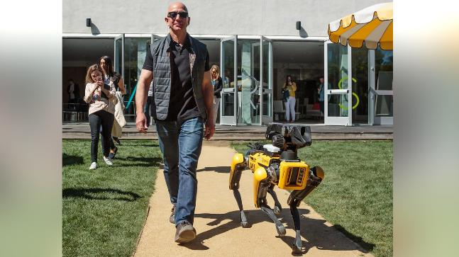 Amazon is said to be working on another big bet: home robots
