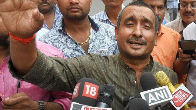 India's BJP MLA arrested for 'rape'