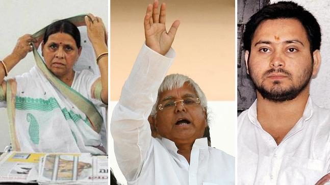 CBI charges Lalu, Rabri and 11 others in IRCTC case