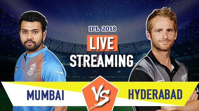 Cricket LIVE STREAMING IPL 2018, MI vs SRH: When, where and