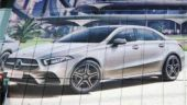Mercedes-Benz A-class sedan picture leaked