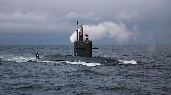 Russian Navy's Amur 1650-submarine