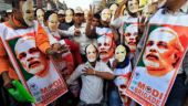 6 Congress workers held for tearing PM Modi's poster