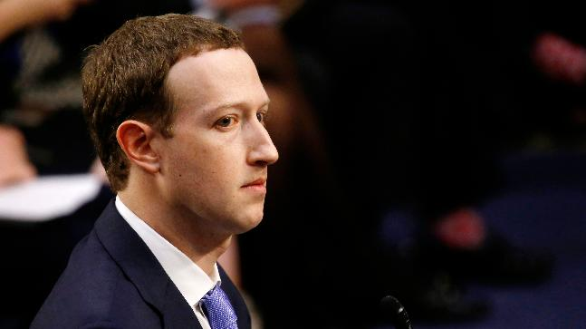 Mark Zuckerberg got nervous during Senate hearing at mention of