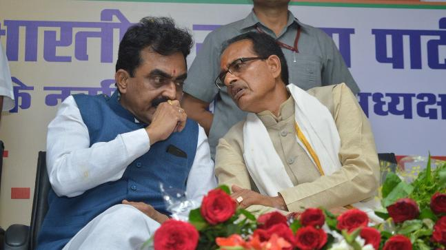 Shivraj Singh Chouhan hints at change of state BJP chief