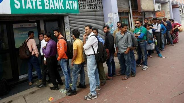 Banknote shortage leaves India's cash machines without rupees