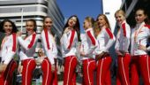 F1 ended the practice of having grid girls this season (Reuters Photo)
