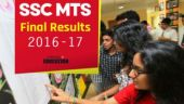SSC MTS Final Results 2016-17: How and where to check from