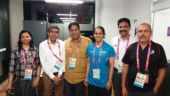 Saina Nehwal's father has now been given the accreditation for the CWG Games Village (Picture tweeted by @NSaina)
