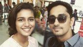 Priya Prakash Varrier meets Siddharth. What's brewing?