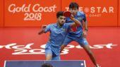 CWG 2018: Sanil Shetty, Harmeet Desai win Bronze in table tennis men's doubles