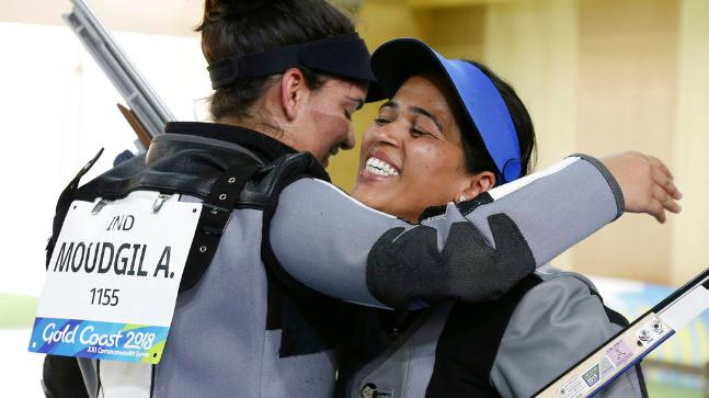 CWG: Indian shooter Tejaswini Sawant wins gold, Anjum grabs silver
