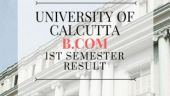 University Of Calcutta B.Com 1st Semester results are out: Know how to check here