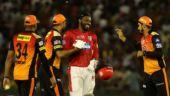 IPL 2018, KXIP v SRH: Chris Gayle hundred helps Punjab snap Hyderabad's unbeaten run