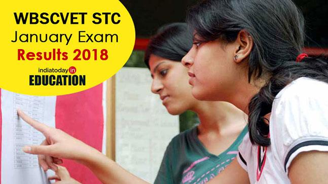 WBSCVET STC January Exam Results 2018