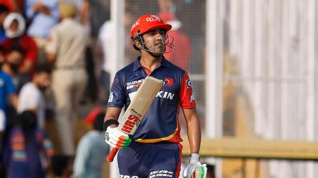 IPL 2018: Gautam Gambhir quits Delhi Daredevils captaincy after 1 win out of 6 matches - Sports News
