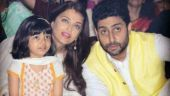 Aaradhya's welcome note for dad Abhishek is making him say 'my daughter bestest'