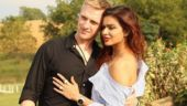 Aashka Goradia and Brent Goble's workout video is giving serious fitness goals