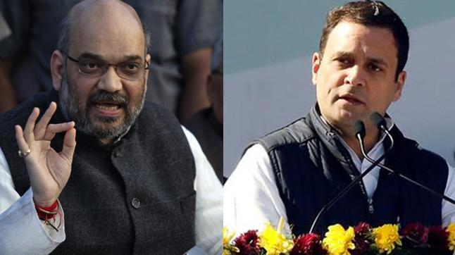 Rahul Gandhi slams Shah for calling opposition parties animals