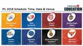 IPL 2018 Schedule: Time, Date and Venue