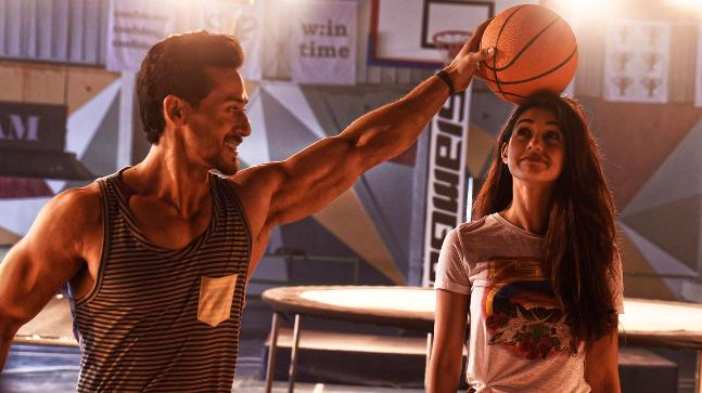 Tiger Shroff and Disha Patani in a still from Baaghi 2