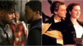 Stills from Black Panther and Titanic