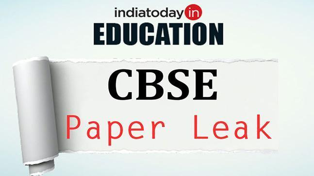 Police arrested three in CBSE paper leak row