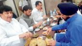 Feasting ahead of fasting backfires on Congress, BJP calls it farce