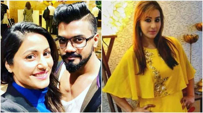Shilpa Shinde's brother Ashutosh Shinde and Hina's boyfriend Rocky Jaiswal lock horns