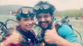 Ishqbaaz actress Vividha Kriti and hubby Varun enjoy beachside honeymoon; see pics