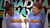 Sunil Grover and Kapil Dev