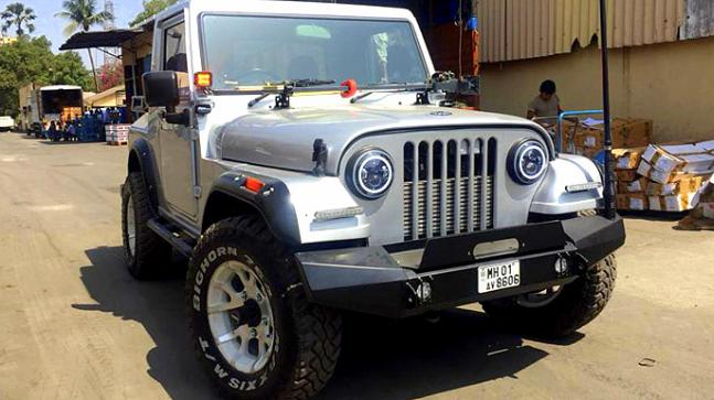 This modified Mahindra Thar is sure to bring back memories ...