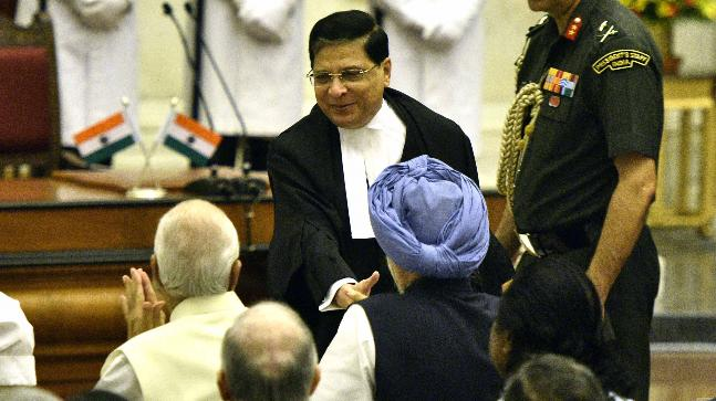 7 parties submit notice to impeach Chief Justice of India Dipak Misra